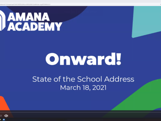 2021 State of the School Address